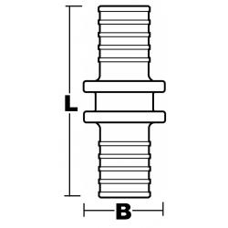 Combi-coupling fitting w inside thread