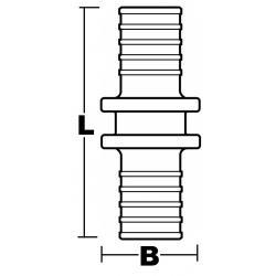 Fitting Combi-Reduktion Zeichnung