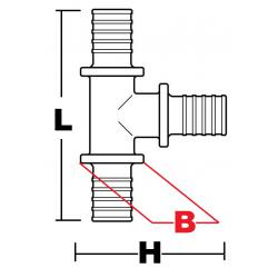 COMBI-T SDR11 reduced branching reduced flow