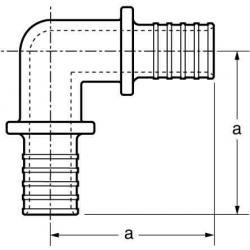 Elbow part 90°