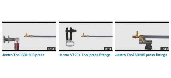 Jentro instructional videos tools