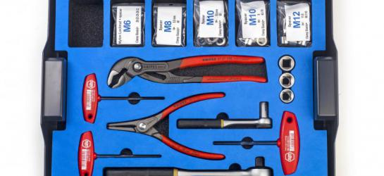 Clampfittings tool case