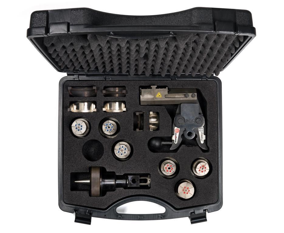 Pressbacken, Köpfe & Aufweiter 40 - 50 und 63 mm